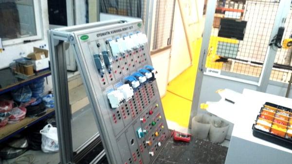 3 Fazlı Asenkron Motorun Sınır Anahtarı İle Devir Yönü Kontrolü