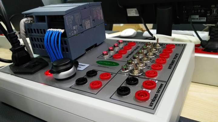 Elektropnömatik deney setleri