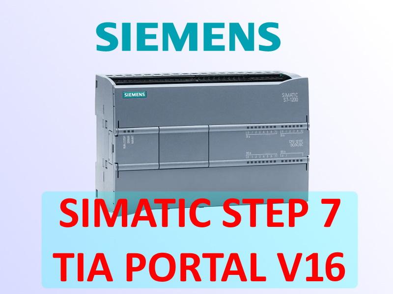 Siemens-Simatic-Step-7-Tia-Portal-V16