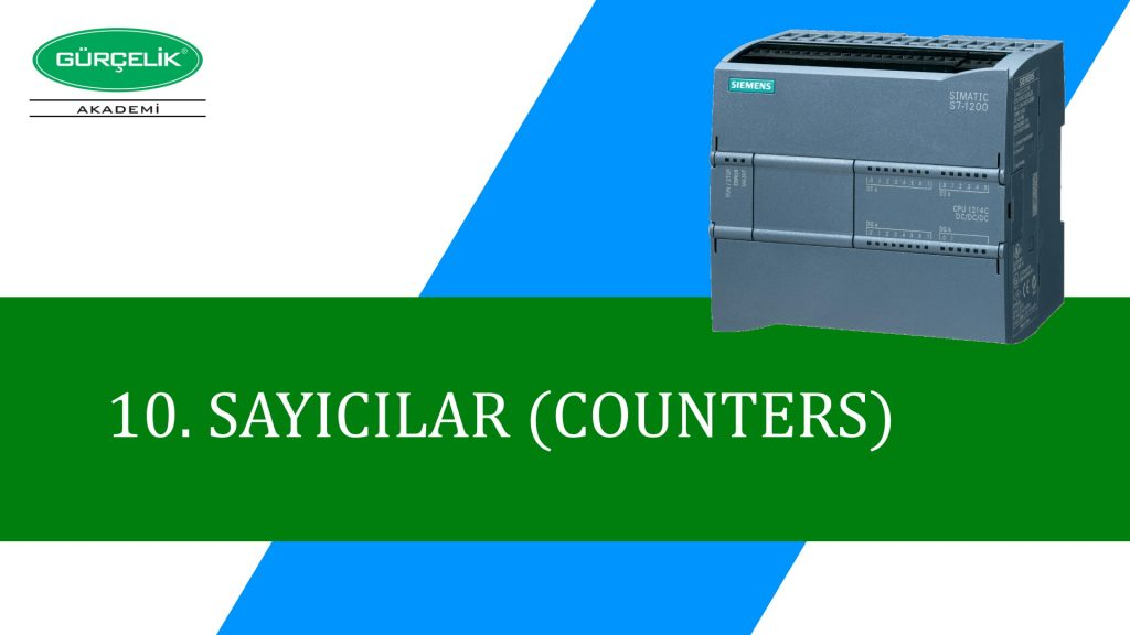 S7-1200 PLC SAYICI-COUNTERS